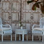 Hamptons wicker set