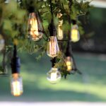 Edison string lights McLaren vale wedding
